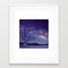 Milky Way 2 Framed Art Print