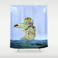 Bhino Shower Curtain