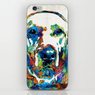 Labrador Retriever Art -… iPhone & iPod Skin