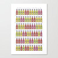 Soda Pop! Canvas Print