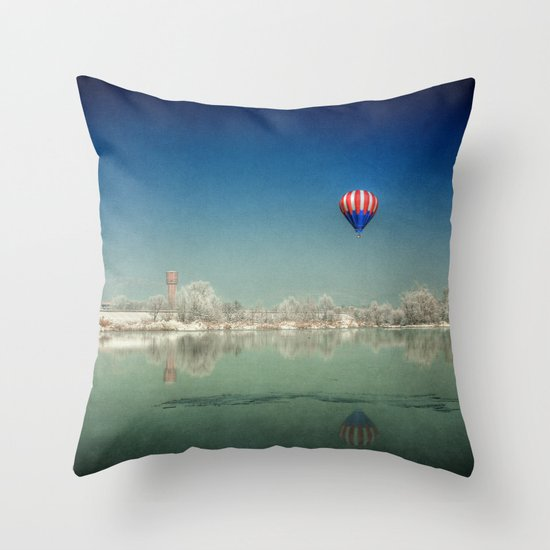 The Winter Dream Throw Pillow