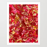 Red Hot Day Species Art Print
