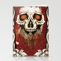 Skullprint Stationery Cards