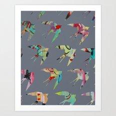 Australian Welcome Swallow II Art Print