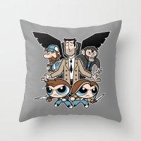 Hell & Back Boys Throw Pillow