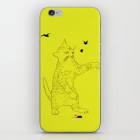 THE EVIL CAT iPhone & iPod Skin