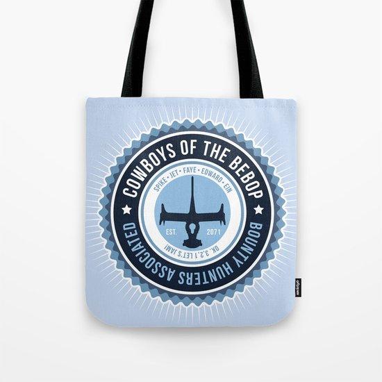 Space Cowboys Tote Bag