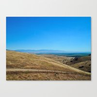 Long way round Canvas Print