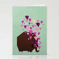 last mammoth Stationery Cards