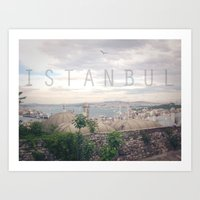 Country Series - Istambul Art Print