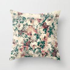 Quiet Garden Movement Throw Pillow