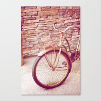 Rusty Spokes Canvas Print