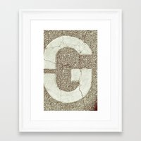 GGGG Framed Art Print