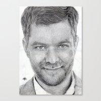 Joshua Jackson ~ Peter B… Canvas Print