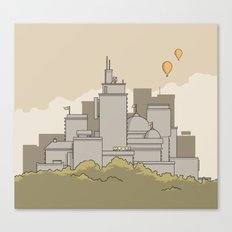 Moore's Big City Canvas Print