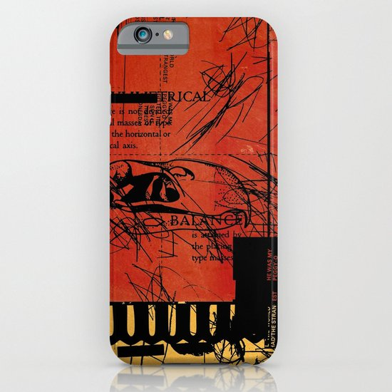 ANALOG ZINE / BETTER GIT IT IN YOUR SOUL iPhone & iPod Case