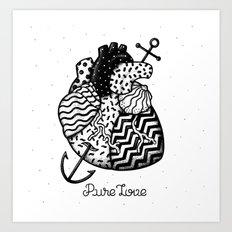 Pure Love Art Print