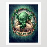 YoDaBeSt Art Print