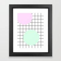 GEOMETRIC + MINIMAL 6 Framed Art Print