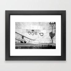 {Il Banchina} Framed Art Print