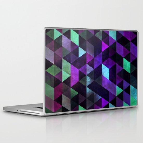 dyrk tyme Laptop & iPad Skin