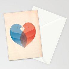 Lovebirds Stationery Cards