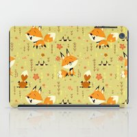 Foxes in the Spring iPad Case