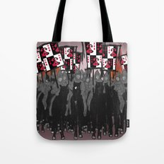 Year of the Snake: blazing banners Tote Bag