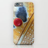 iPhone & iPod Case featuring Red Button by Grace Breyley