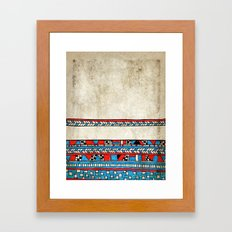 Complicated Framed Art Print