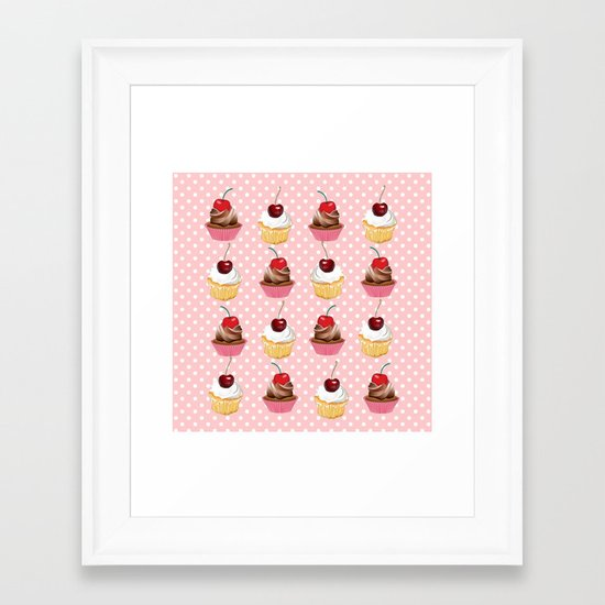 Sweets for my sweet Framed Art Print
