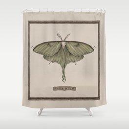 Shower Curtain - Luna Moth - Jessica Roux