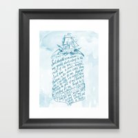 Old Sailor Song No.3 Framed Art Print