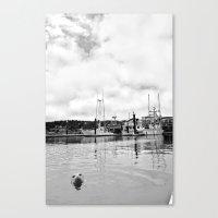 Sea MONSTER Canvas Print