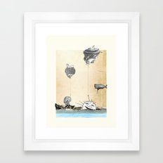 New day rising Framed Art Print