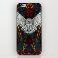 The Great Grey Owl iPhone & iPod Skin