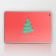 wish you a merry christmas! Laptop & iPad Skin