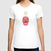 skulls T-shirts featuring Skulls by Lucky Skye
