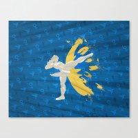 Kickin' It (An Homage To… Canvas Print