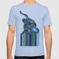 Goddess Of Versailles Mens Fitted Tee Athletic Blue SMALL