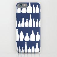 Bottles Navy iPhone 6 Slim Case