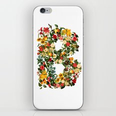 B FLOWER iPhone & iPod Skin