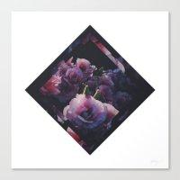 Floral One // Remix Canvas Print