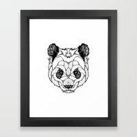 New Panda Framed Art Print