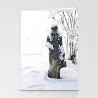 Lonely and Cold Stationery Cards