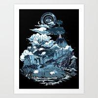Terra Mikronic Art Print