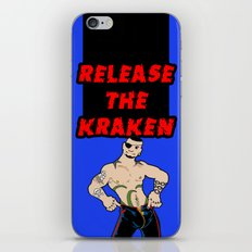 Release The Kraken iPhone & iPod Skin