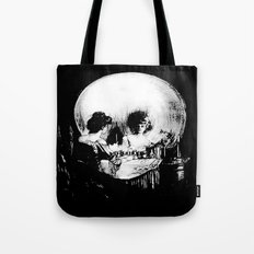 All Is Vanity: Halloween Life, Death, and Existence  Tote Bag