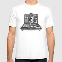 Lost Souvenirs Mens Fitted Tee White SMALL