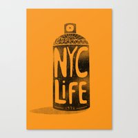 NYC Life Canvas Print